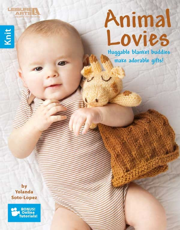 Lovey Security Blanket Knitting Patterns - In the Loop Knitting