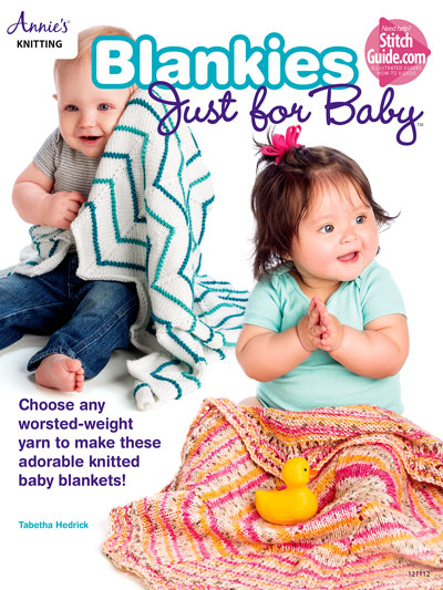 Blankies Just for baby 6 knitting patterns