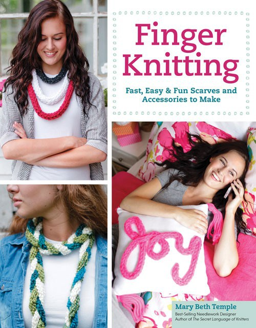 Finger Knitting book