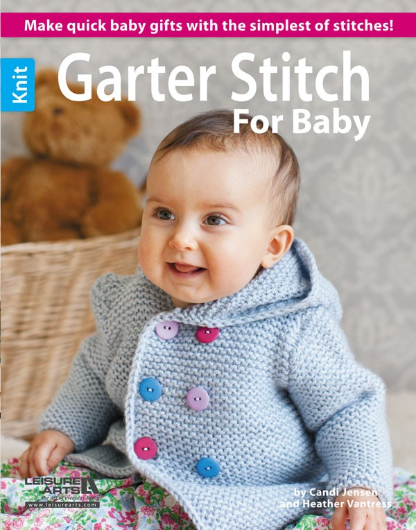 Garter Stitch for Baby Knitting Patterns