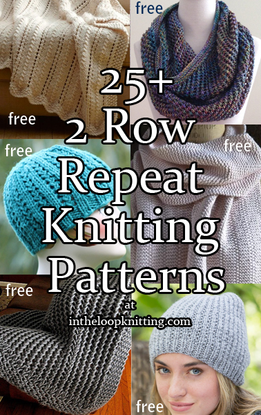 2 Row Knitting Patterns