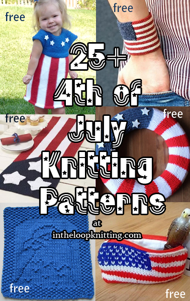 4th of July Knitting Patterns