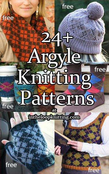 Argyle Knitting Patterns