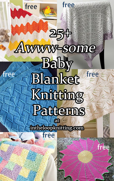 Aww-some Baby Blanket Knitting Patterns