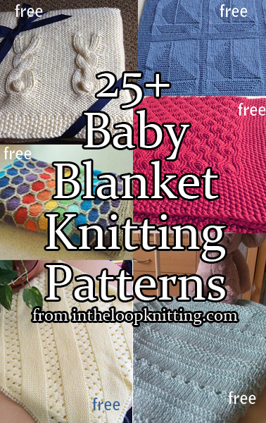 9eb9d4dbd Baby Blanket Knitting Patterns - In the Loop Knitting