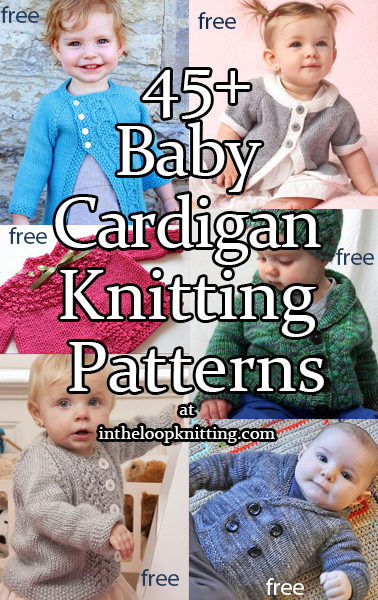 Baby Cardigan Knitting Patterns