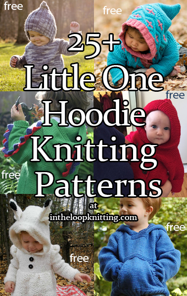 9aee1cd492bf Little One Hoodie Knitting Patterns - In the Loop Knitting