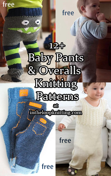 Baby Pants and Rompers Knitting Patterns. Knitting patterns for baby pants, diaper covers, overalls, dungarees and rompers Many of the patterns are free. Most patterns are free.