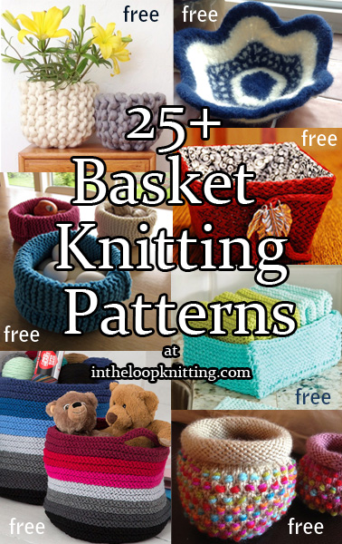 Basket Knitting Patterns