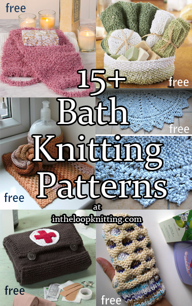 Bath Knitting Patterns