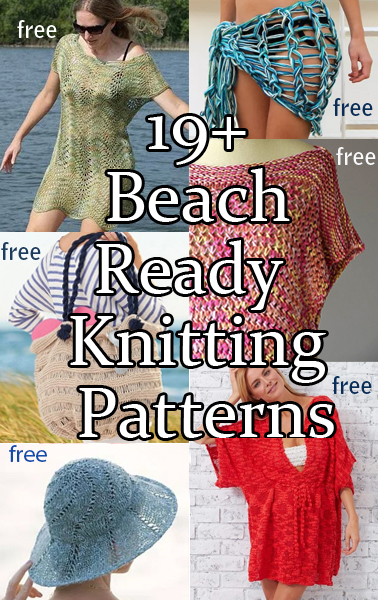 Beach Wear Knitting Patterns In The Loop Knitting