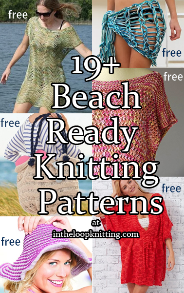 Beach Ready Knitting Patterns In The Loop Knitting