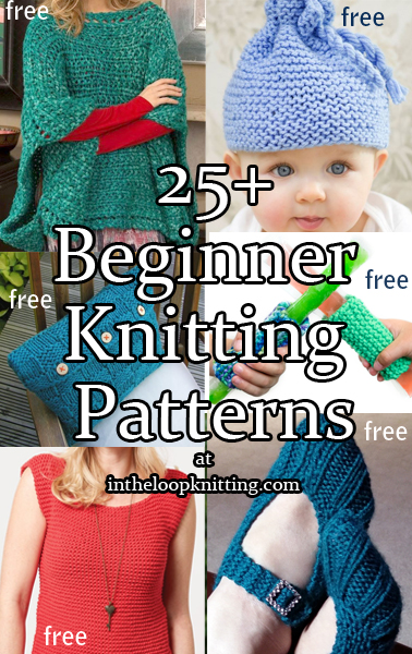 5d261e7d85a Beginner Knitting Patterns. You don t have to knit scarves when you re