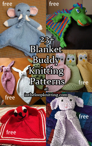 Lovey Security Blanket Knitting Patterns In The Loop Knitting