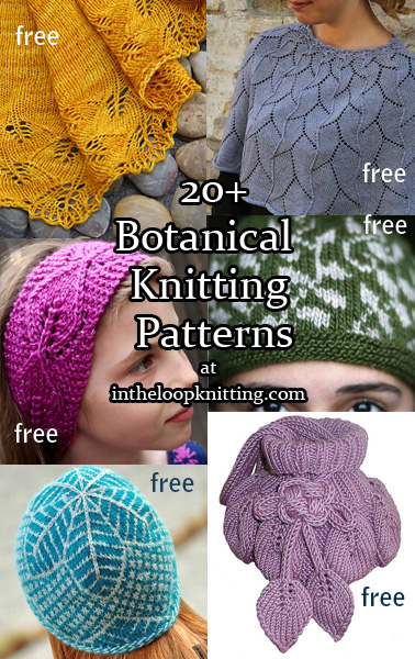 Botanical Knitting Patterns