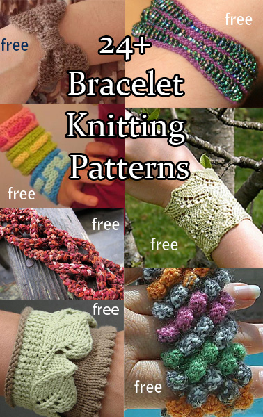Bracelet Knitting Patterns