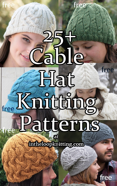 2cbd662f8 Cable Hat Knitting Patterns - In the Loop Knitting