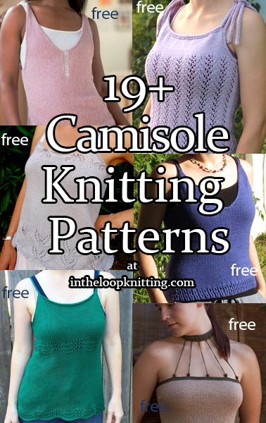 Camisole Knitting Patterns