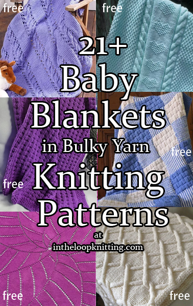 Quick Baby Blanket Knitting Patterns In The Loop Knitting Awesome Free Knitting Patterns Bulky Yarn