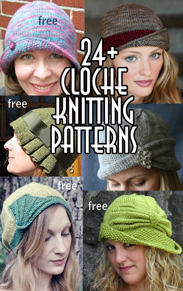 Cloche Hat Knitting Patterns In The Loop Knitting