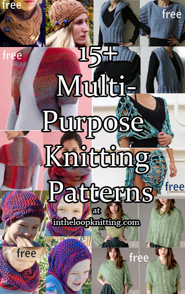 Multi-Function Knitting Patterns