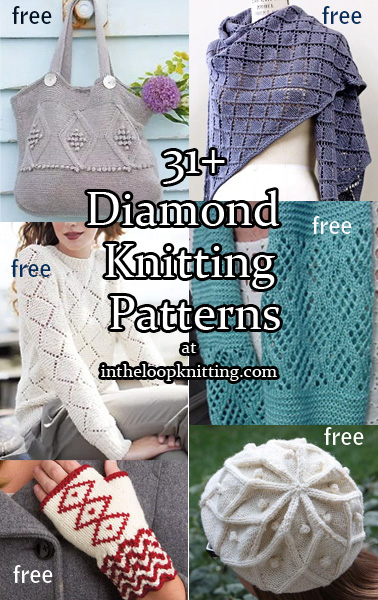 Diamond Knitting Patterns