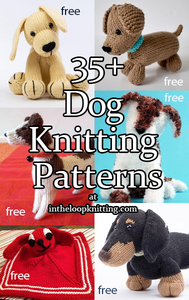 Dog Knitting Patterns. Cute toys, hats, and other knitting patterns with your favorite pups! Most patterns are free.