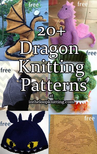 Dragon Knitting Patterns