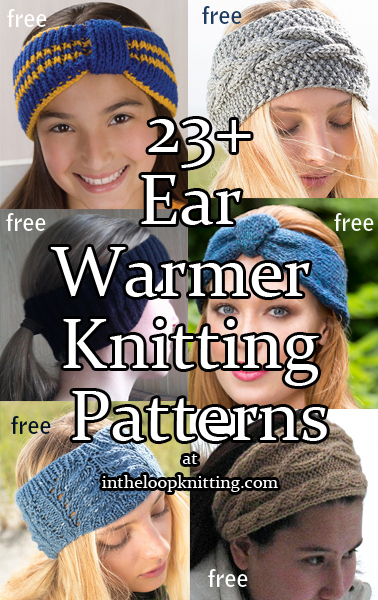 Earwarmer Headband Knitting Patterns