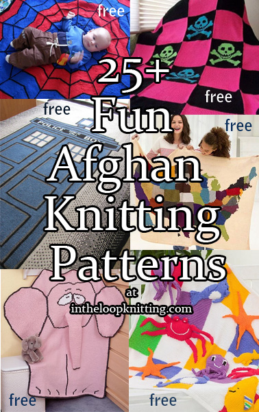 Fun Afghan Knitting Patterns. These blanket and throw patterns vary from the whimisical to quirky to educational, but all are attention-getters.