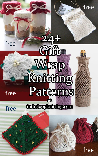 Gift Wrap Knitting Patterns
