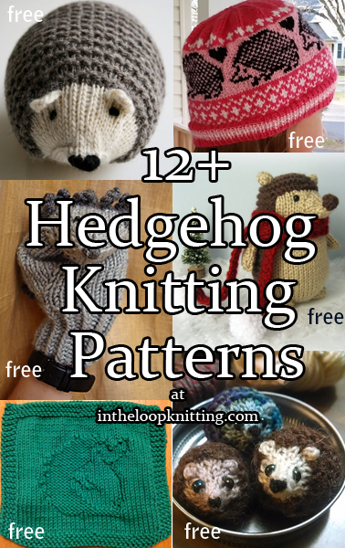 Hedgehog Knitting Patterns In The Loop Knitting
