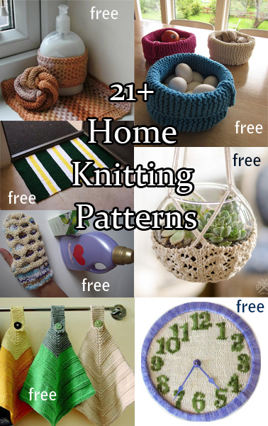 Household Knitting Patterns