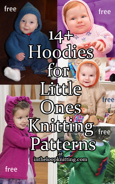 Baby Hoodie Knitting Patterns