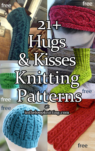 Hugs and Kisses Knitting Patterns