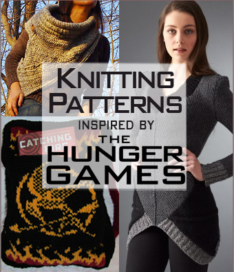 Hunger Games Knitting Patterns. Knitting patterns inspired by the Hunger Games books, movies, characters, and motifs. Most patterns are free.