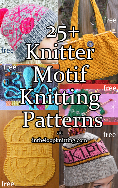 Knitter Motif Knitting Patterns