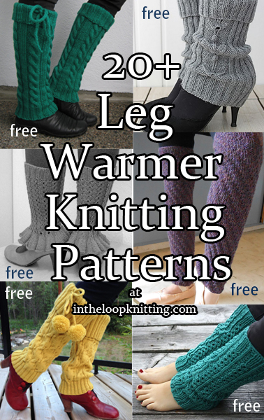 Legwarmer Knitting Patterns In The Loop Knitting