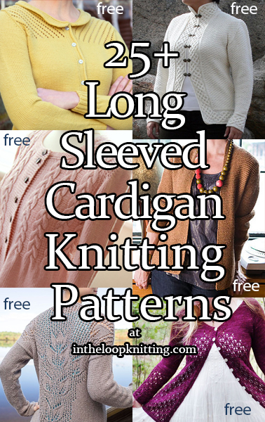 Cardigan Sweater Knitting Patterns - In the Loop Knitting