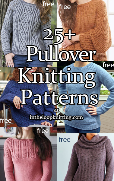 Long Sleeve Pullover Sweater Knitting Patterns. Sweater patterns for a variety of skill levels, including easy. Most patterns are free.