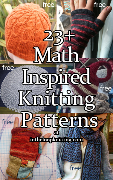 Math Inspired Knitting Patterns In The Loop Knitting