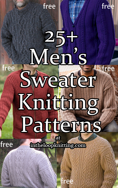 429d96799 Men s Sweater Knitting Patterns - In the Loop Knitting