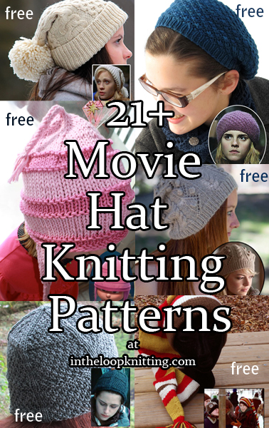 Movie Hat Knitting Patterns