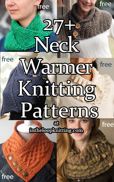 Neckwarmer Knitting Patterns In the Loop Knitting