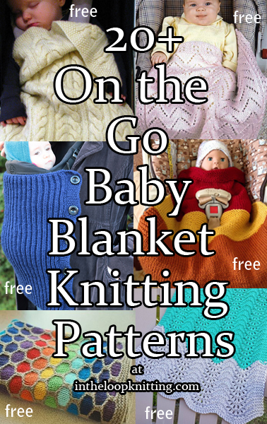 On the Go Baby Blanket Knitting Patterns