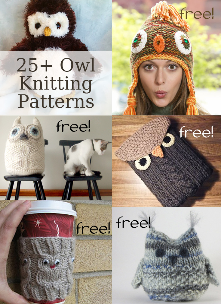 Owl Knitting Patterns- In the Loop Knitting