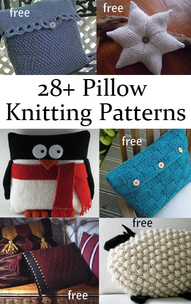 Pillow Knitting Patterns In The Loop Knitting
