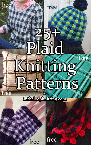 Plaid Knitting Patterns