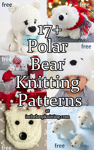 Polar Bear Knitting Patterns
