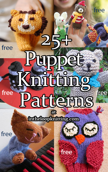 Puppet Knitting Patterns